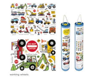 Wall Stickers - Wheels