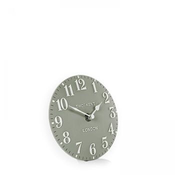 "6"" Arabic Mantel Clock - Seagrass"