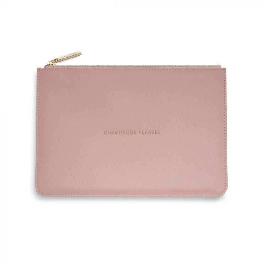 Perfect Pouch - Champagne Please - Pink