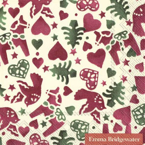Cocktail Napkins - Emma Bridgewater Christmas Joy
