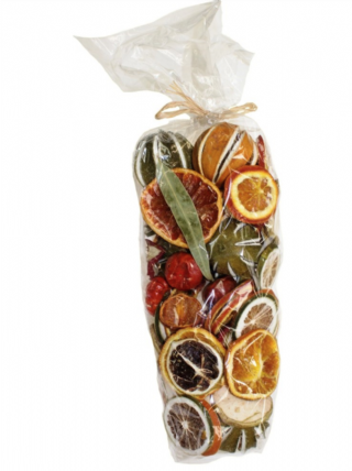 Christmas Fruits Pot Pourri Bag