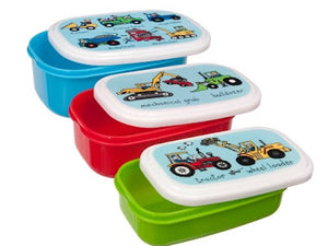 cadeauxwells - Set of 3 Snack Boxes - Wheels - Tyrrell Katz - Childrens