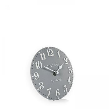 "6"" Arabic Mantel Clock - Flax Blue"