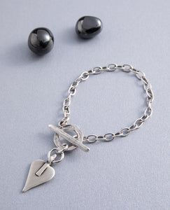 Signature Heart Bracelet by Danon