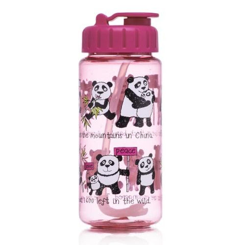 Panda - Tritan drinking bottle with Straw