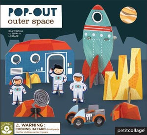 Outer-Space Pop Out