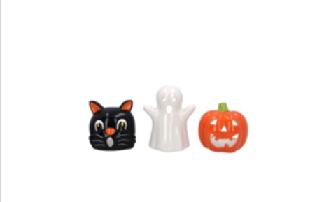Ceramic Hallowe'en Tealights