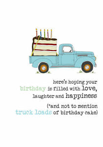 Birthday filled with truckloads of cake