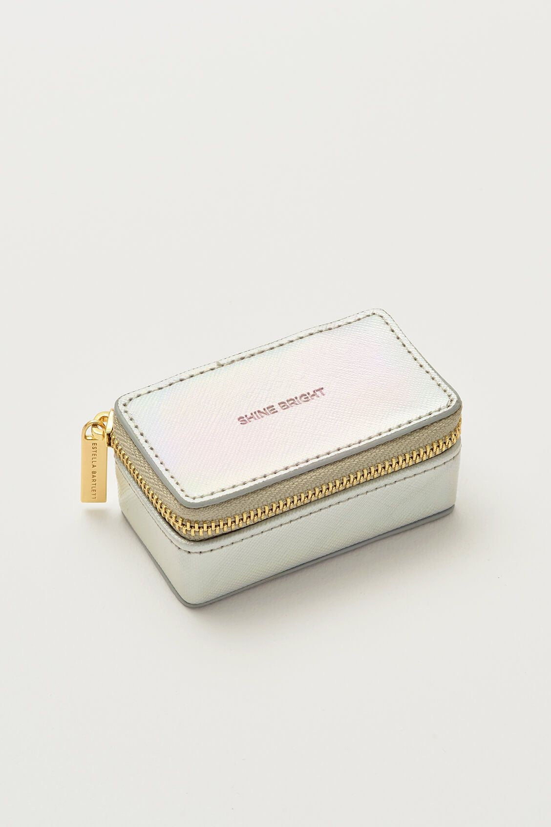 Tiny Jewellery Box - Iridescent 'Shine Bright'