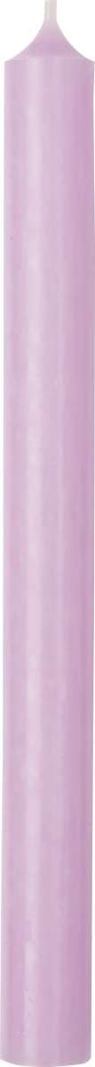 Light Lilac Cylinder Candle - 25cm
