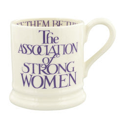 Emma Bridgewater Purple Toast 'Strong Women' 1/2 Pint Mug