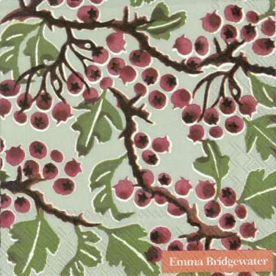 Cocktail Napkins - Emma Bridgewater Hawthorn Berry