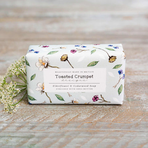 Elderflower & Cedarwood 190g Soap Bar