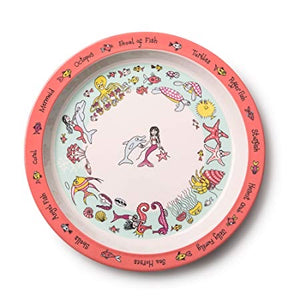 Melamine Plate - Under the Sea