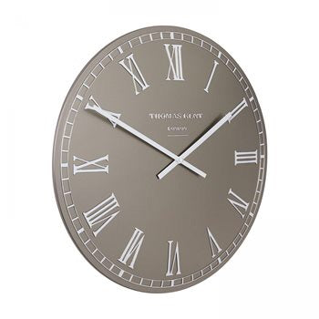 "20"" Hampshire Wall Clock - Pewter"