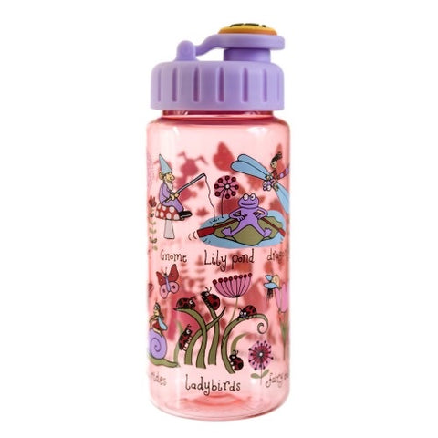 Secret Garden - Tritan Drinking Bottle with Straw