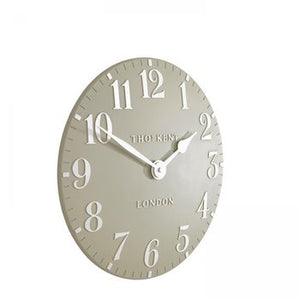 "12"" Arabic Wall Clock - Pebble"