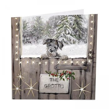 The Grotto - Pack of 6 Christmas Cards