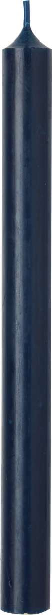 Navy Blue Cylinder Candle - 25cm