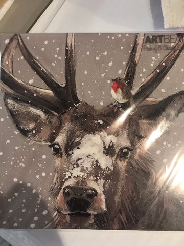 Deer Friends - Pack of 6 Christmas Cards