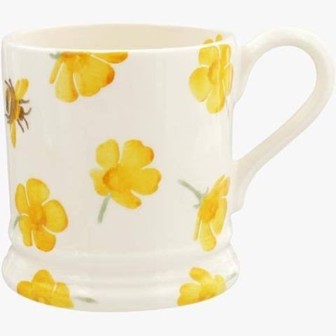 Buttercup Scattered 1/2 Pint Mug