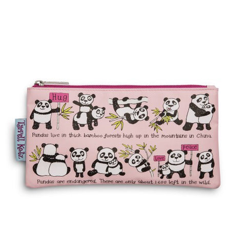 cadeauxwells - Pencil Case - Panda - Tyrrell Katz - Childrens