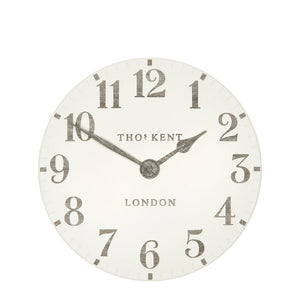 "12"" Arabic Wall Clock - Limestone"
