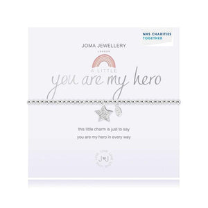 A Little You Are my Hero Bracelet