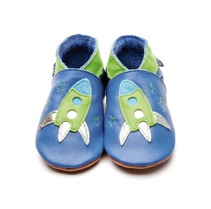 Inch Blue Baby Shoes - Zoom Blue/Green