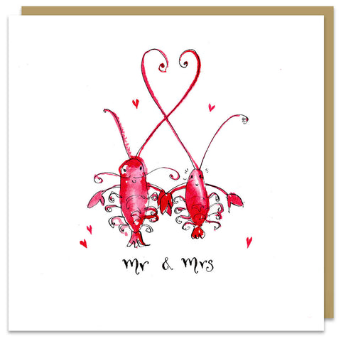 Mr & Mrs Lobster