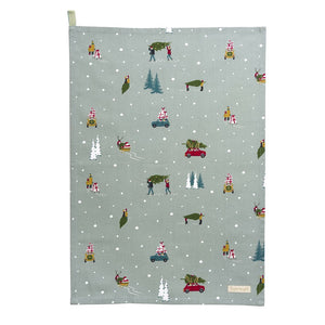 Tea Towel - Home for Christmas