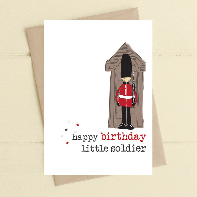Happy Birthday - Little Soldier