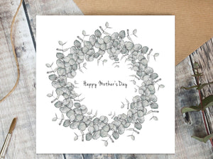 Mother's Day Card - Eucalyptus
