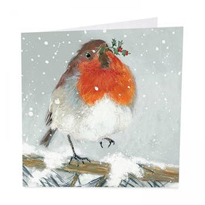 Little Red Robin - Pack of 6 Christmas Cards