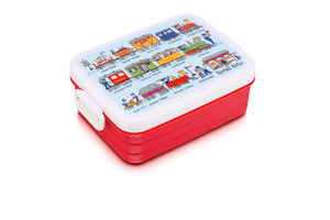 cadeauxwells - Trains Lunch Box - Tyrrell Katz - Childrens