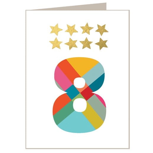 8 - Mini Gold Star Card