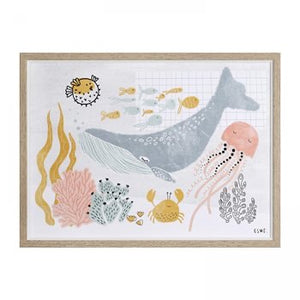 Under the Sea - Framed Print
