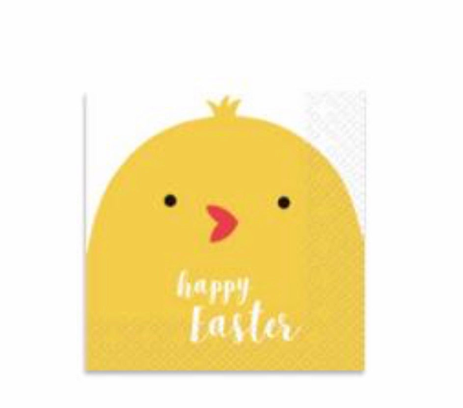 Lunch Napkins - Easter Chick