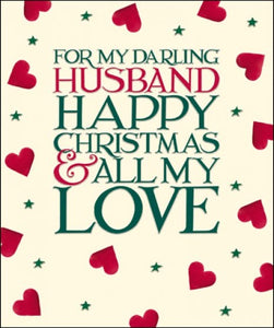 For My Darling Husband, Happy Christmas