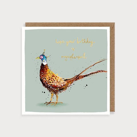 Hope Your Birthday Is Magnipheasant - Pheasant