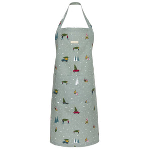 Adult Apron - Home for Christmas