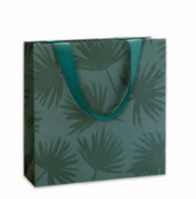 Large Gift Bag - Pure Vida Petrol