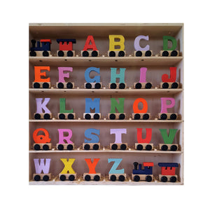 Ryantown Wooden Alphabet Train Letters