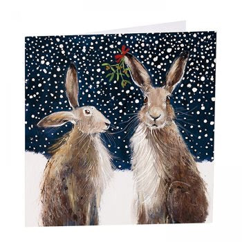 Meet Me Under The Mistletoe - Pack of 6 Christmas Cards
