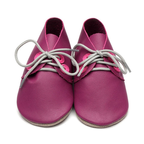 Inch Blue Baby Shoes - Grape/Pink