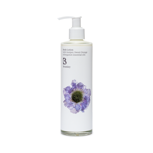 Body Lotion 250ml - with Juniper, Sweet Orange and Bergamot essential oils