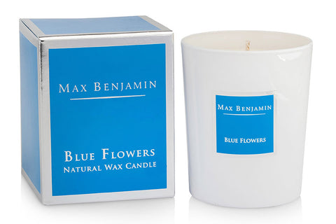 Scented Candle - Blue Flowers