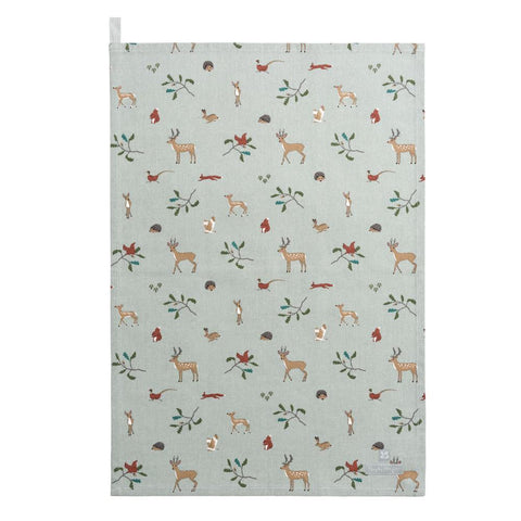 Tea Towel - National Trust - Woodland