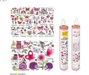 Wall Stickers - Secret Garden