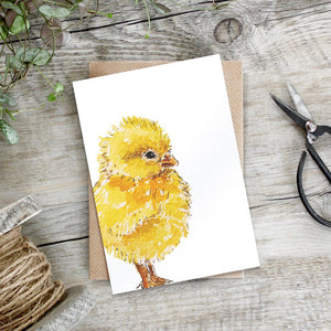 Pure Art - Little Chick Card
